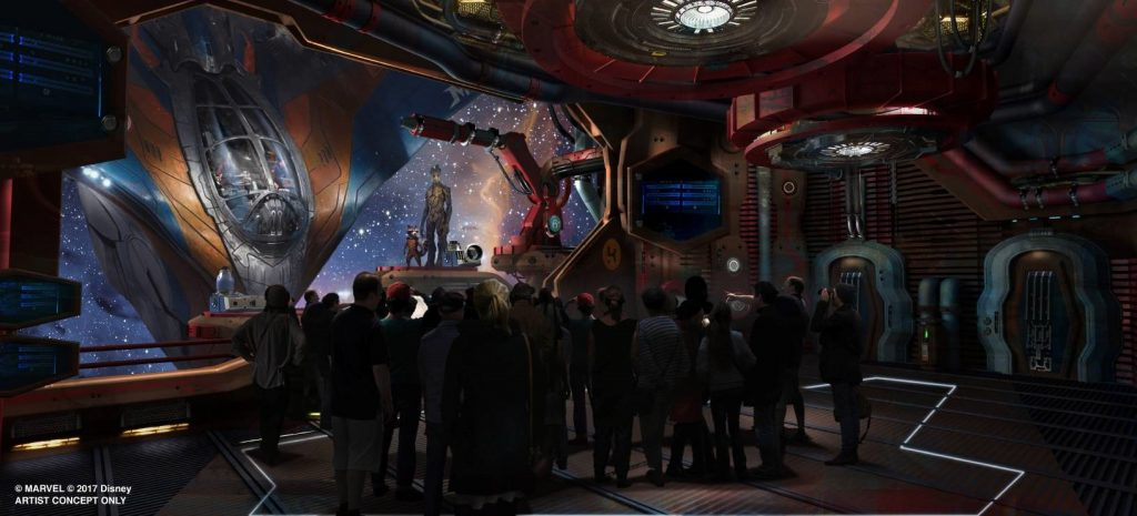 GOTG Ride at Epcot