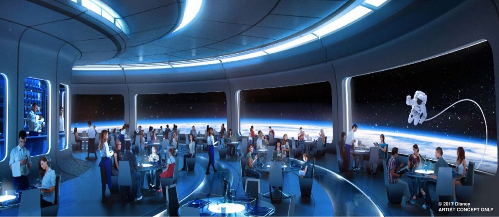 New Epcot Mission Space Restaurant