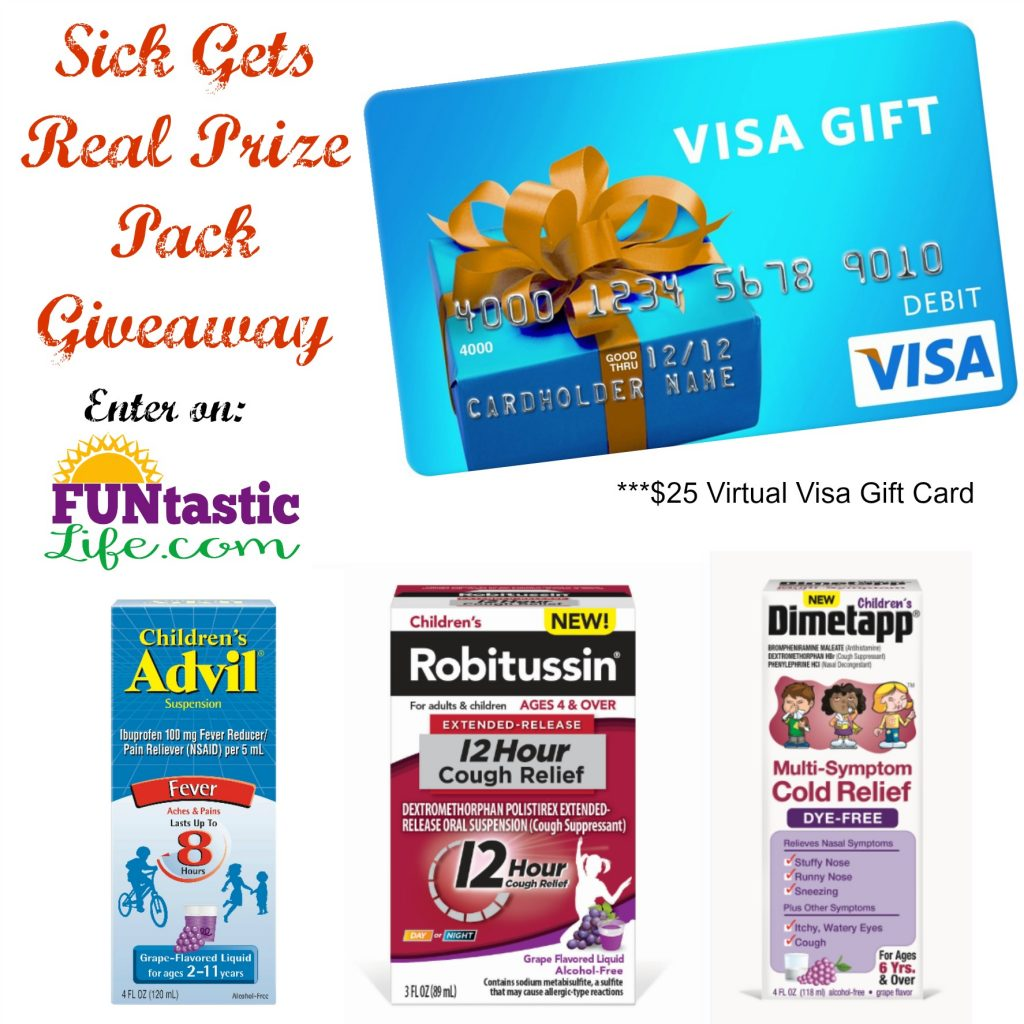 When Sick Gets Real While Traveling with Kids Giveaway