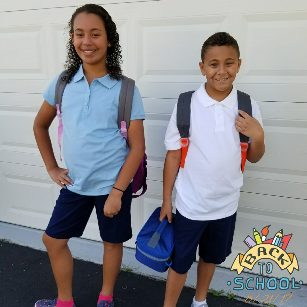 1st Day of School 2017 - 2018