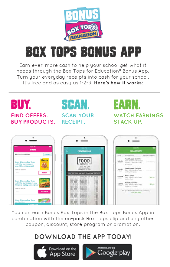 Box Tops App