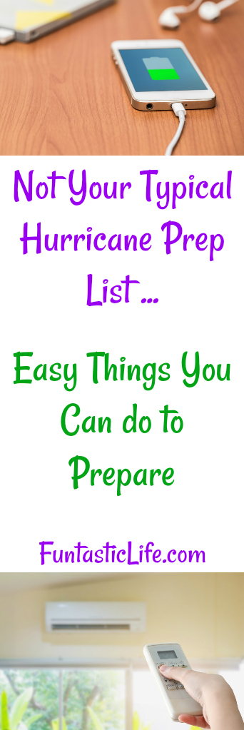 Hurricane Preparation Ideas