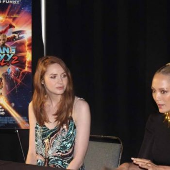 Karen Gillan and Pom Klementieff Chat About Guardians of the Galaxy Vol. 2 and Avengers: Infinity War