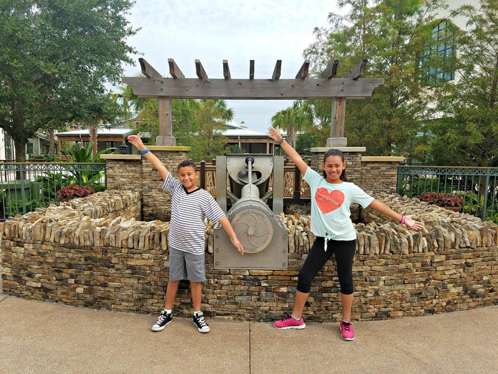 Kids at Disney Springs