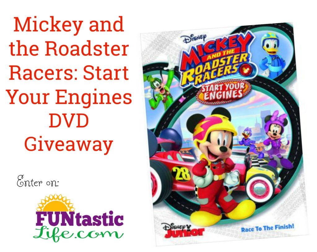 Mickey and the Roadster Racers Start Your Engines DVD Giveaway