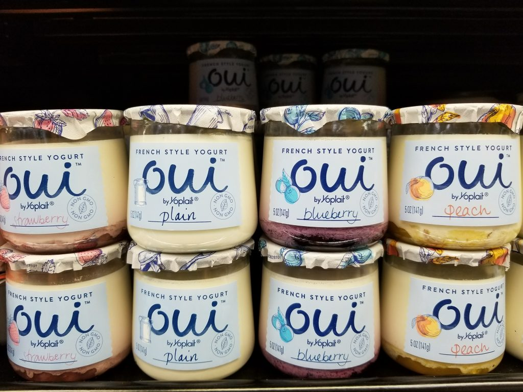 Oui Yoplait Flavors at Walmart