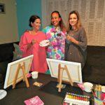Snatched At-Home Paint Night
