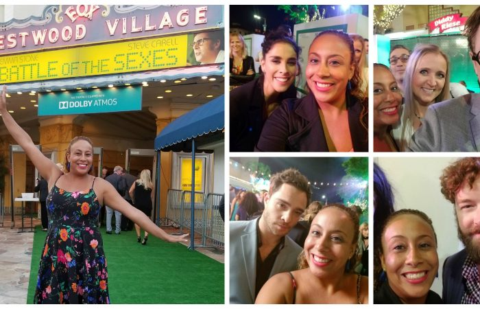 "Battle of the Sexes Movie Premiere and ""Green"" Carpet Experience"