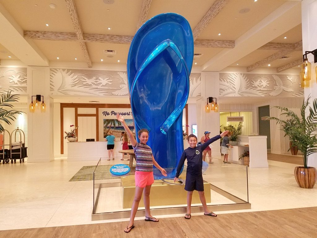 Big Flip Flop at Hollywood Margaritaville Beach Resort