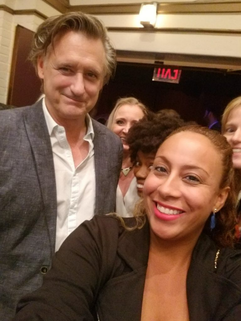 Bill Pullman and Leanette Fernandez