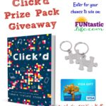 Click'd Prize Pack Giveaway (includes $50 Visa Gift Card)