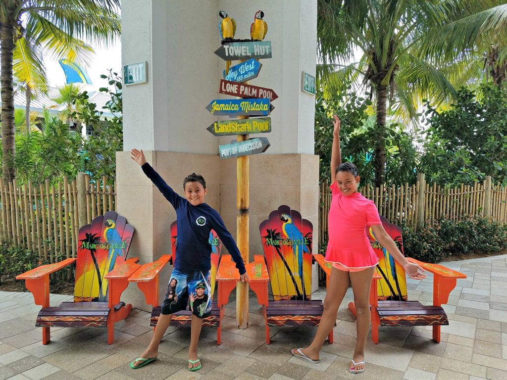 Kids at Hollywood Margaritaville Beach Resort