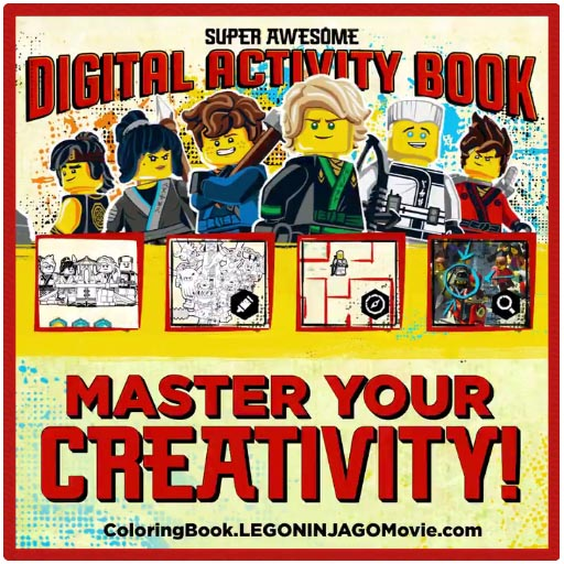 The LEGO NINJAGO Digital Activity Book