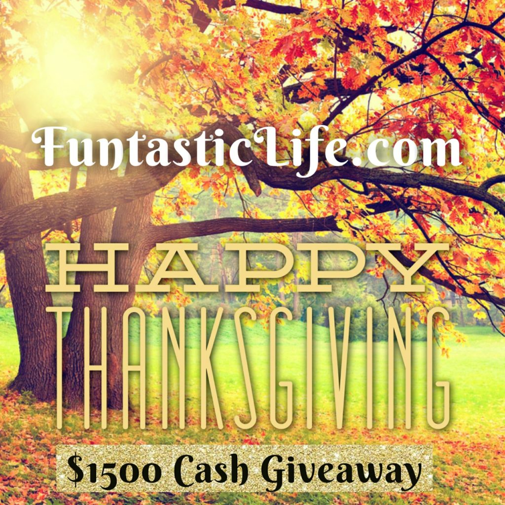 $1500 Thanksgiving Giveaway Image