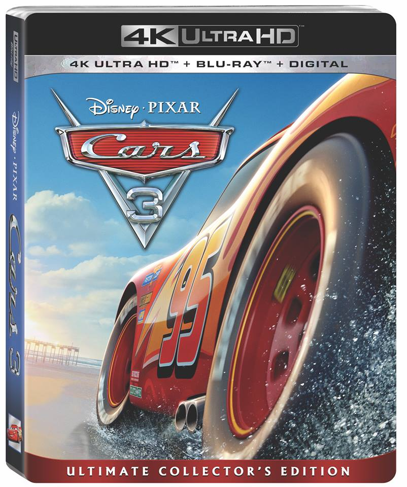 enjoy all the cars 3 bonus features on blu ray and dvd funtastic life. Black Bedroom Furniture Sets. Home Design Ideas