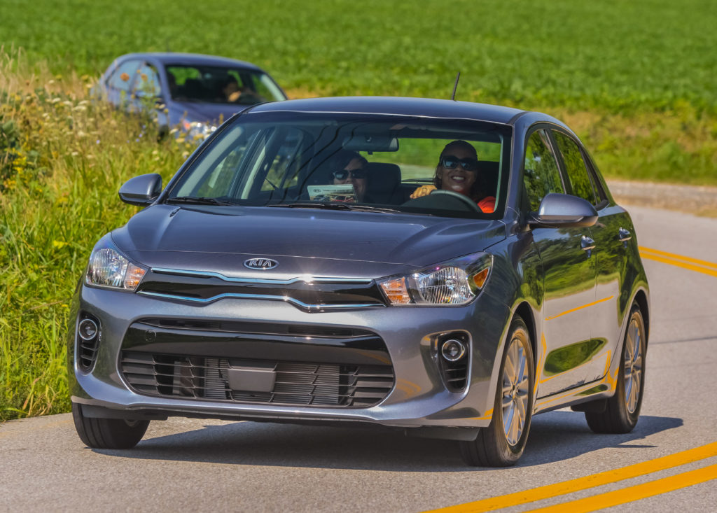 Driving the 2018 Kia Rio