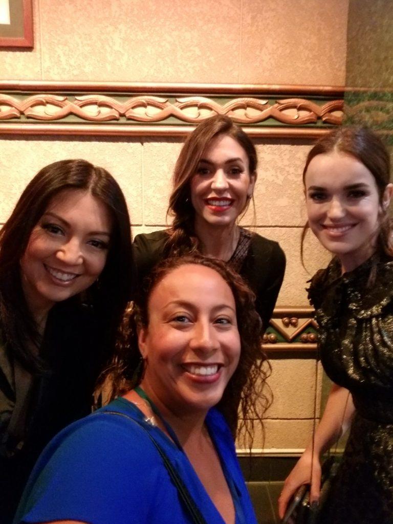Elizabeth Henstridge, Natalia Cordova-Buckley, Ming-Na Wen, Leanette Fernandez at Thor Ragnarok Premiere)