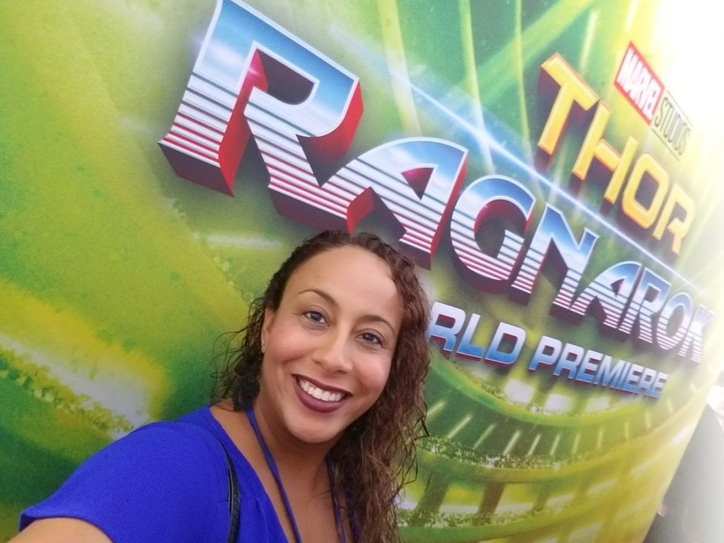 Leanette Fernandez at Thor Ragnarok Premiere