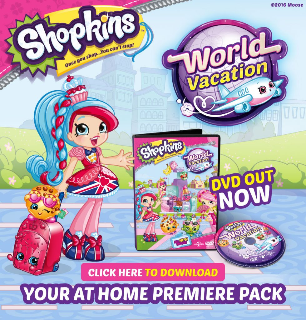 Shopkins World Vacation At Home Premiere pack