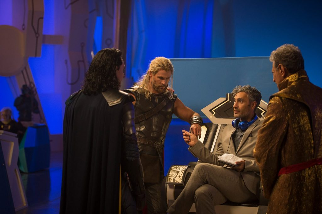 Taika Waititi on Thor Ragnarok Set #3
