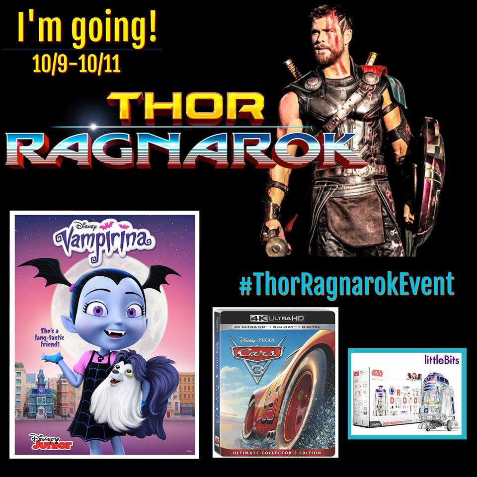Thor Ragnarok Event Button