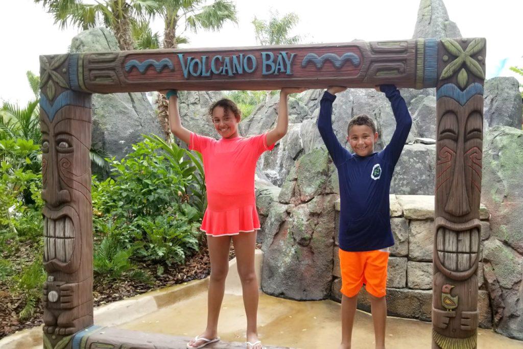 Kids at Volcano Bay R
