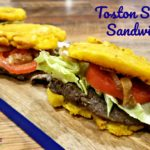 The Toston Steak Sandwich
