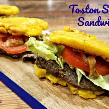The Toston Steak Sandwich