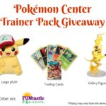 Pokémon Center Trainer Pack GIVEAWAY