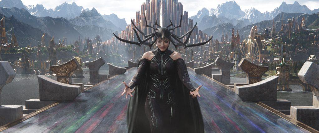 Marvel Studios' THOR: RAGNAROK..Hela (Cate Blanchett)..Ph: Film Frame..©Marvel Studios 2017