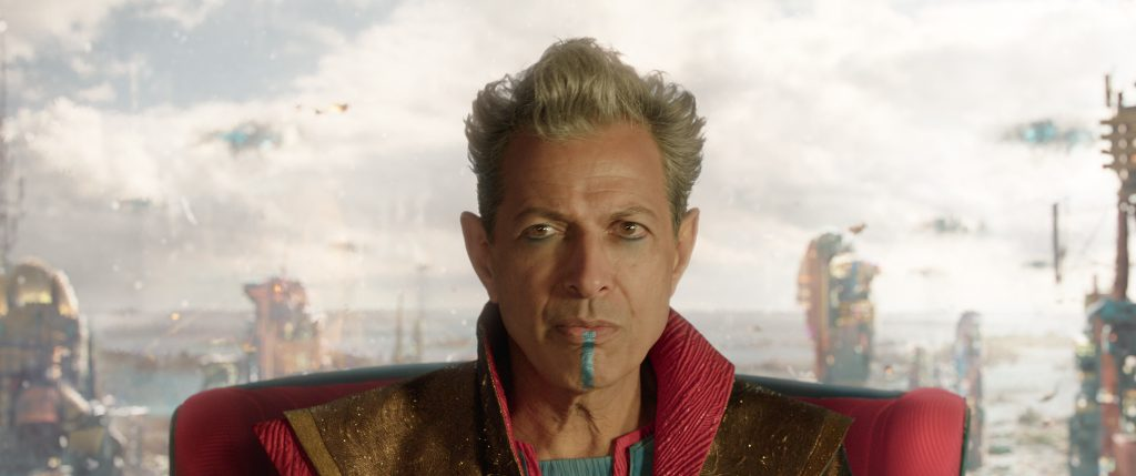 Marvel Studios' THOR: RAGNAROK..Grandmaster (Jeff Goldblum)..Ph: Teaser Film Frame..©Marvel Studios 2017