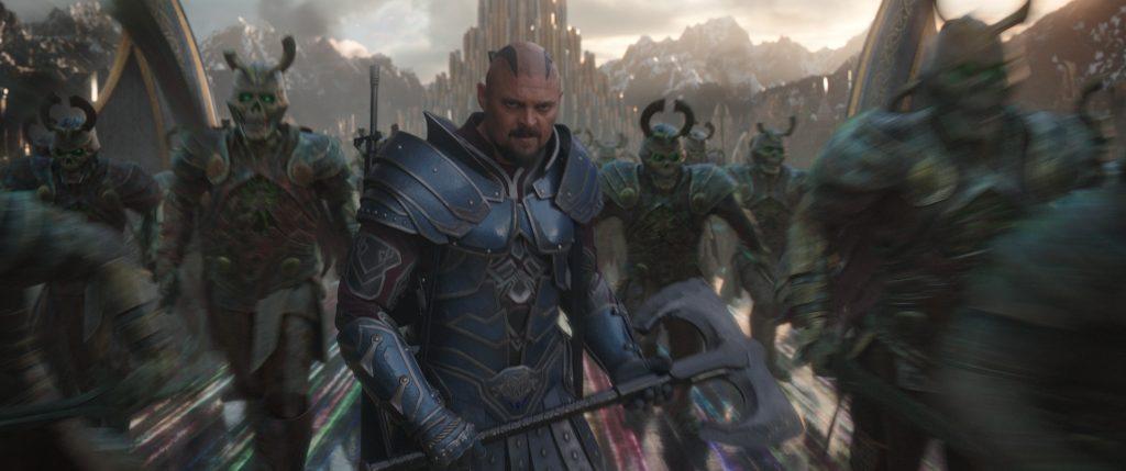 Marvel Studios' THOR: RAGNAROK..Skurge (Karl Urban)..Ph: Film Frame..©Marvel Studios 2017