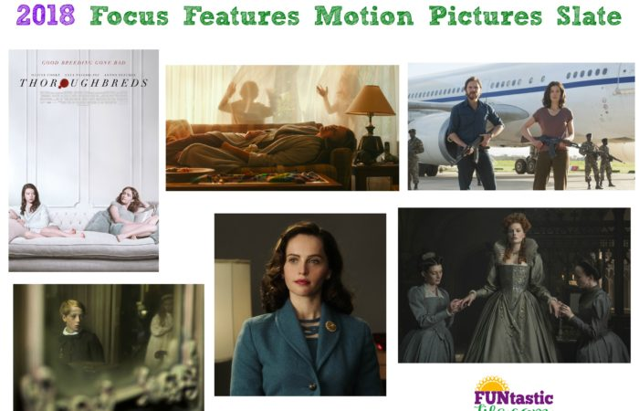 2018 Focus Features Motion Pictures Slate