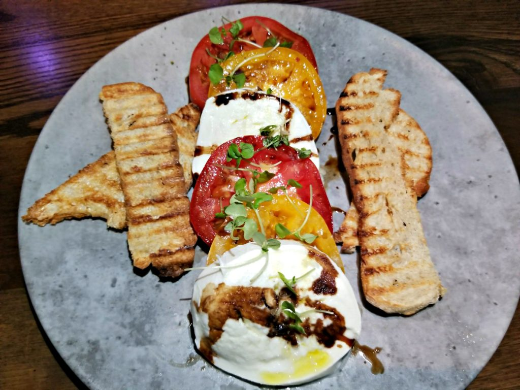 Bufala Mozzarella Caprese at Tanzy Restaurant