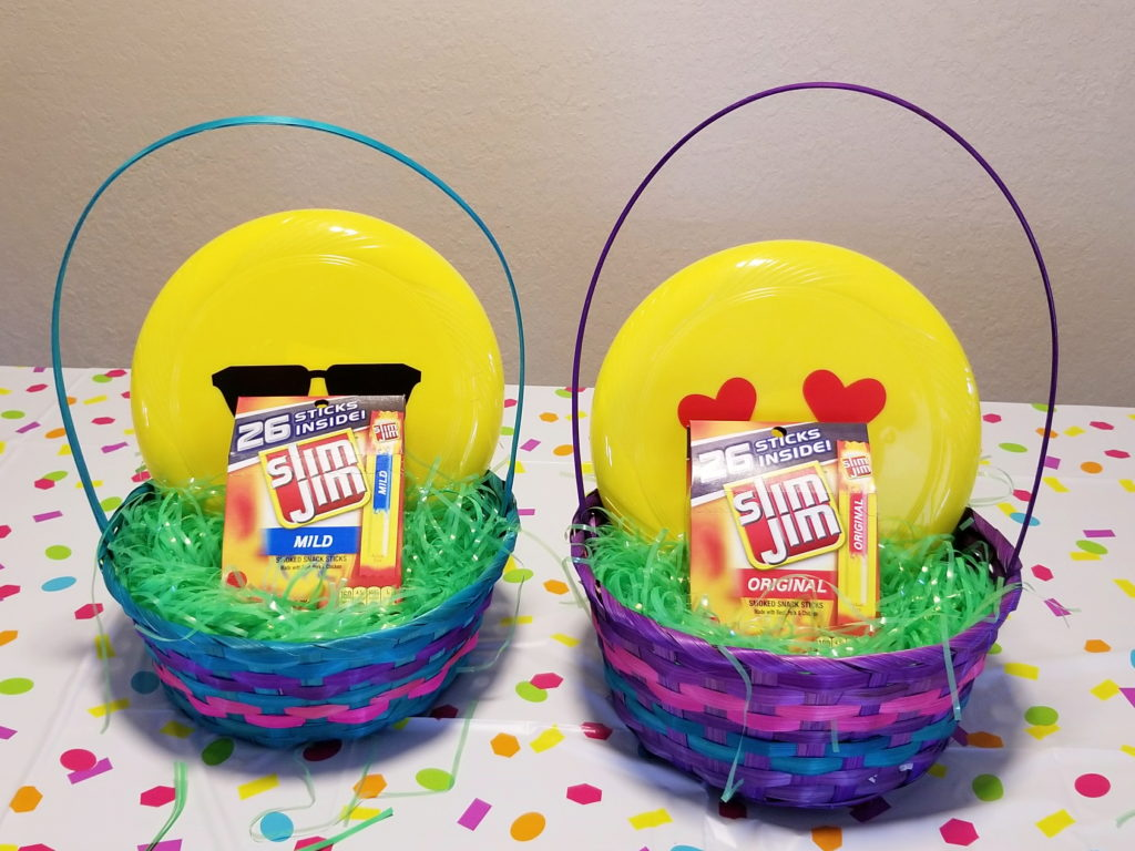 Easter Basket Creation Tips - Food