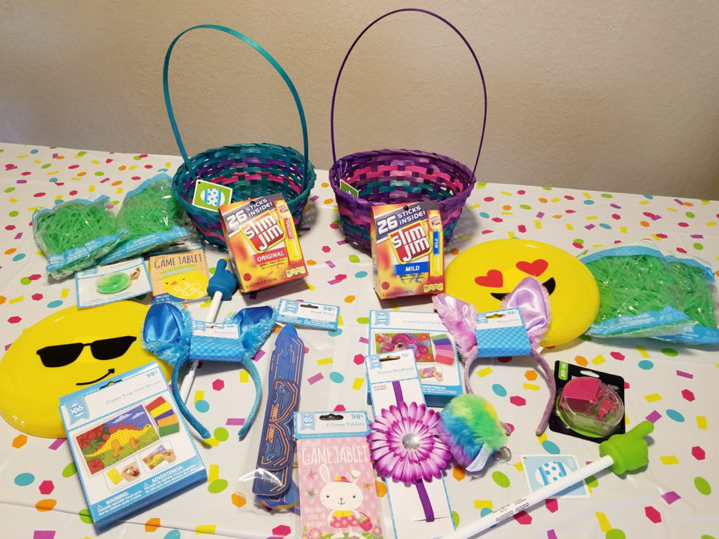 Easter Basket Creation Tips - Goodies