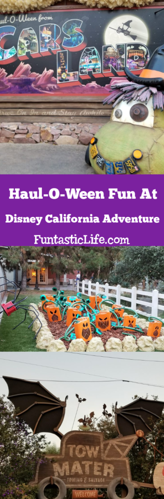 Haul-O-Ween Fun at Disney California Adventure Pin