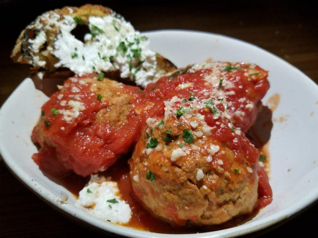 Meatballs Al Forno at Prezzo