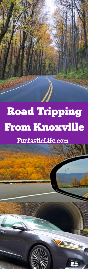 Road Tripping from Knoxville, Tennessee to Gatlinburg, Tennessee