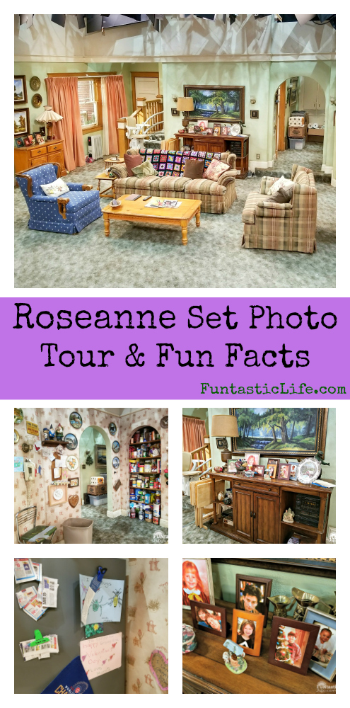 Roseanne Set Collage