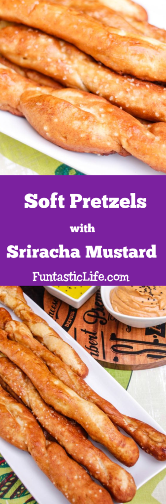 Soft Pretzels with Sriracha Mustard Recipe