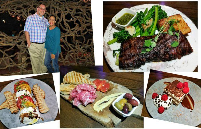 Dinner Date at Tanzy Restaurant