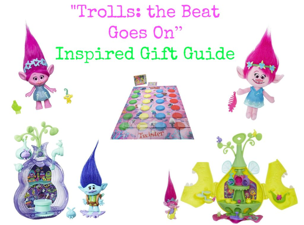 Trolls the Beat Goes On Inspired Gift Guide