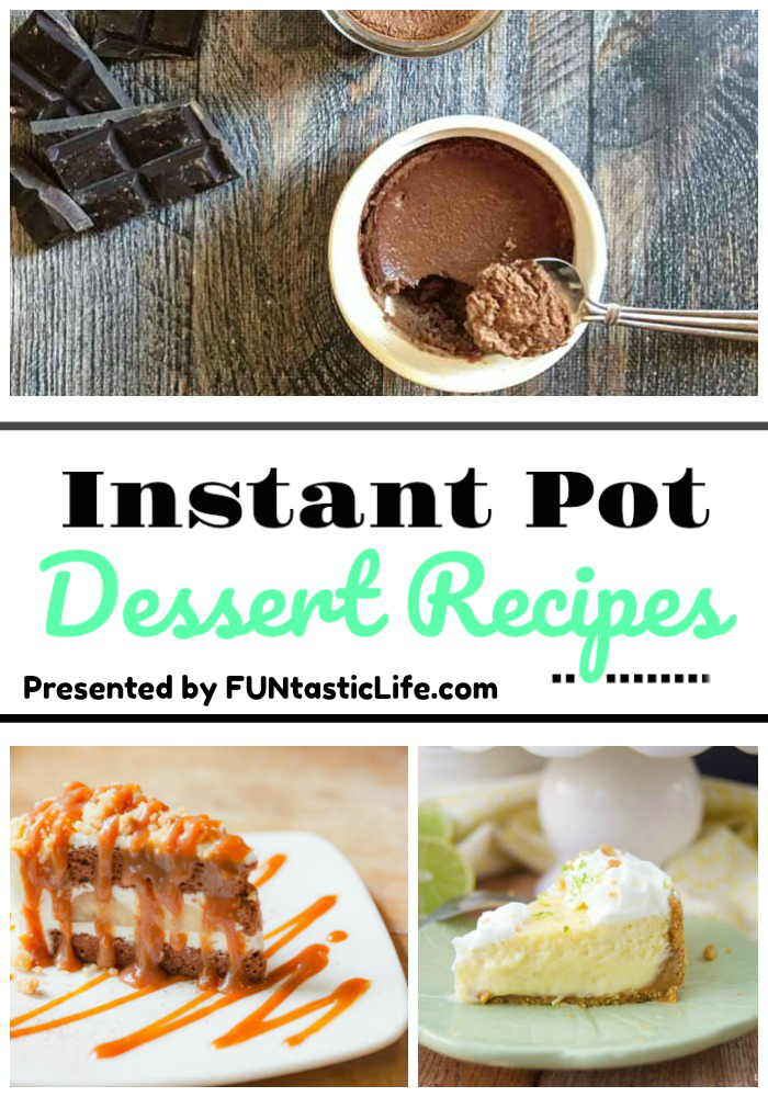 20 Instant Pot Dessert Recipes