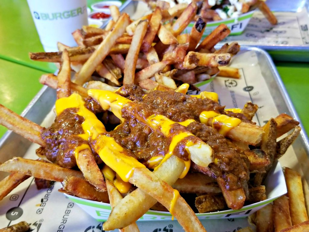 BurgerFi Chili Cheese Fries