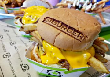 BurgerFi Loaded Chili Cheese Burger