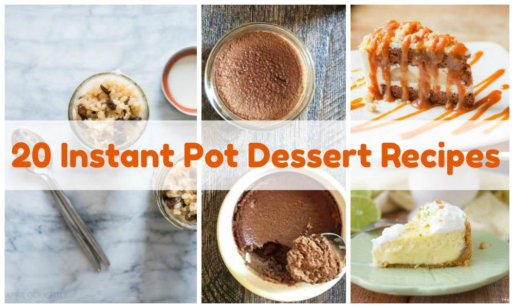 Instant Pot Desserts Image