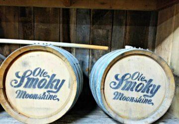 Ole Smoky Moonshine Barrels