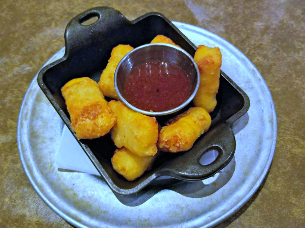 Fried Mac and Cheese Bites at The Park Grill