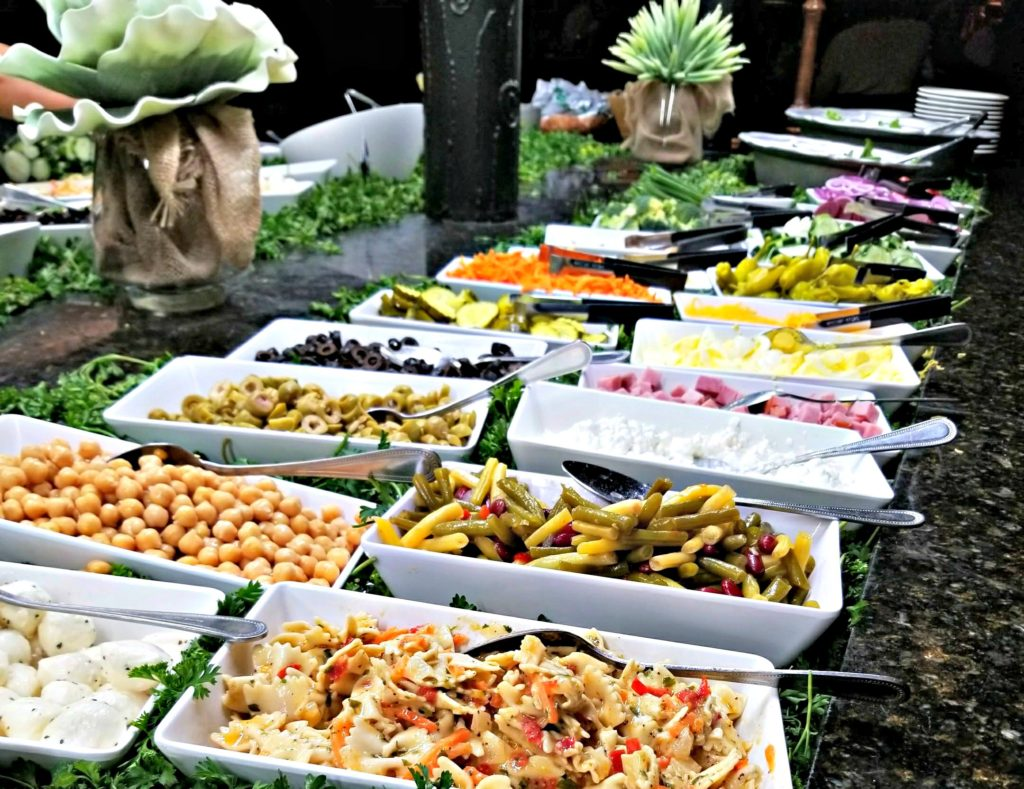 Salad Bar at The Park Grill